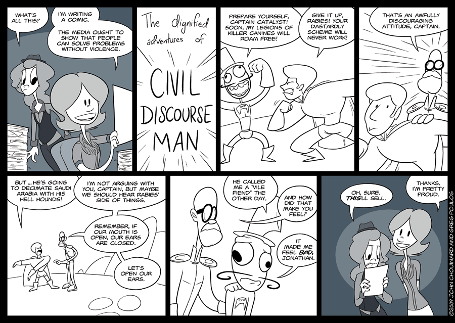 INTERLUDE: Civil Discourse Man